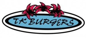 Old TK Burger Logo