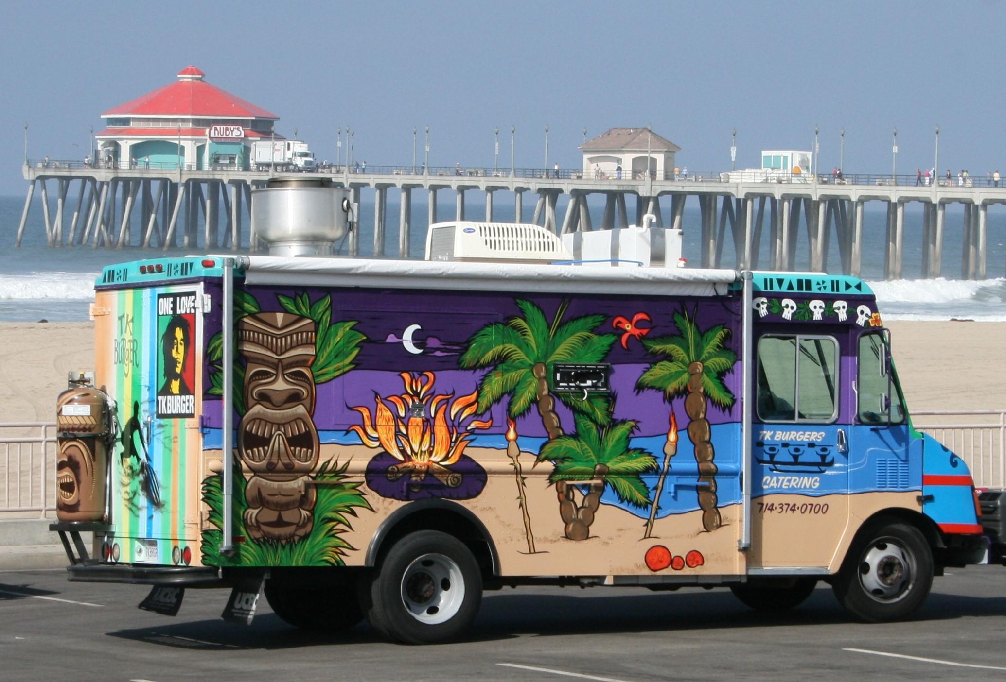 beach truck'