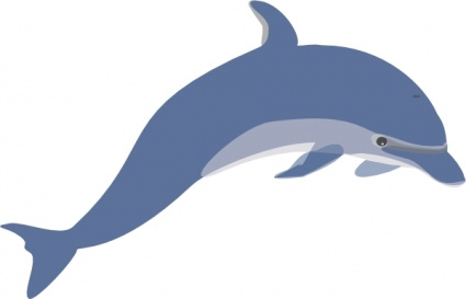 John R. Peterson Elementary Dolphin Logo